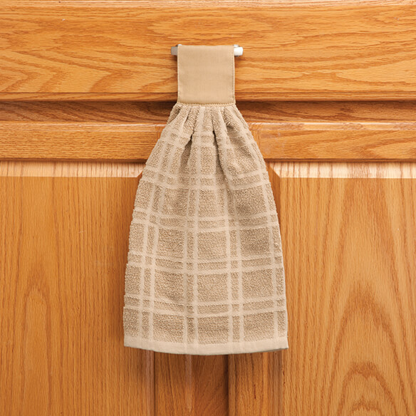 Cotton Hanging Towel - Solid - View 4