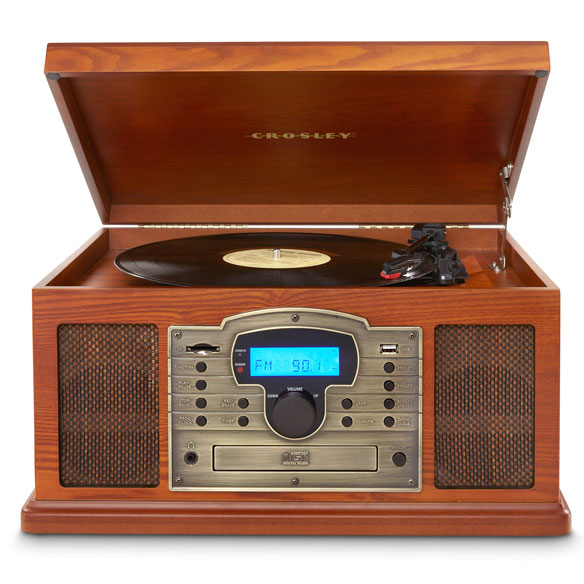 Crosley Troubador 3-Speed Turntable with USB/SD Card Reader - View 4