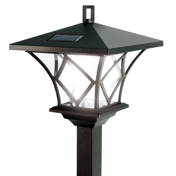 Solar LED Lamp Pole - View 2