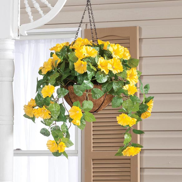 Fully Assembled Petunia Hanging Basket by OakRidge Outdoor™ - View 5