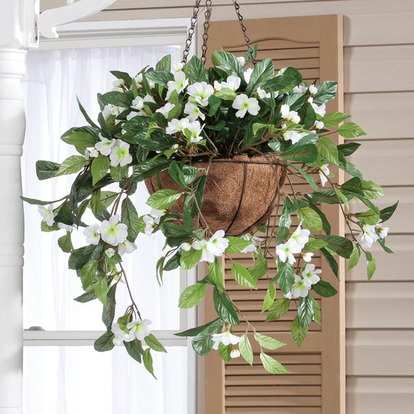 Fully Assembled Impatien Hanging Basket by OakRidge Outdoor™ - View 4