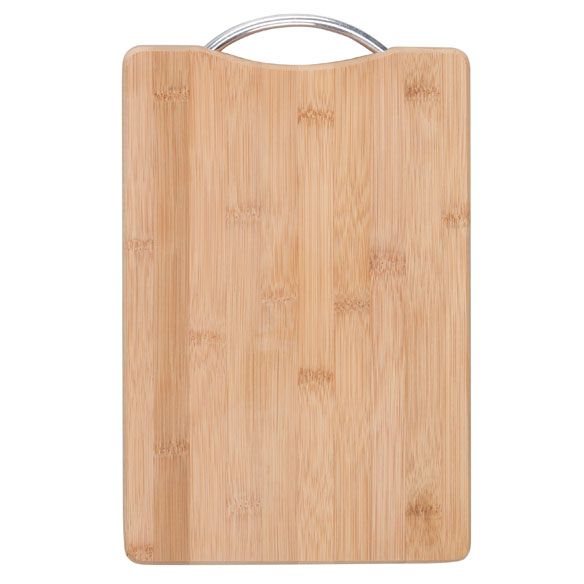 "Bamboo Cutting Board with Handle, 8"" x 12"" - View 2"