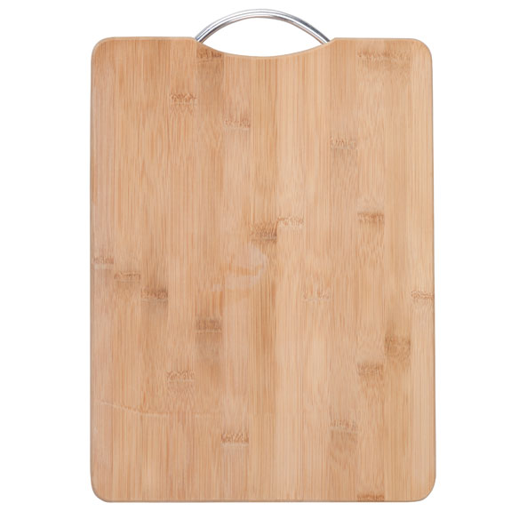 "Bamboo Cutting Board with Handle, 11"" x 15"" - View 2"