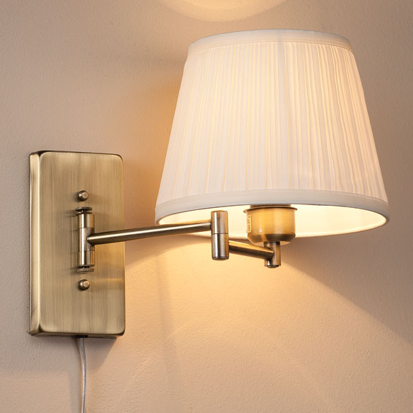 Wall Mount Swing Arm Lamp by OakRidge Accents™ - View 2