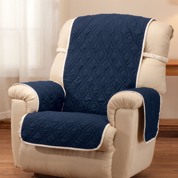 Deluxe Reversible Waterproof Recliner Chair Cover - View 4