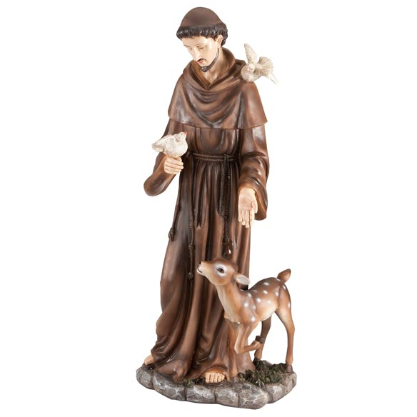 St. Francis Statue - View 2
