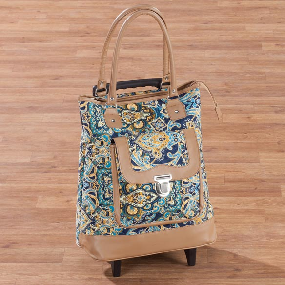 Quilted Rolling Tote - View 3