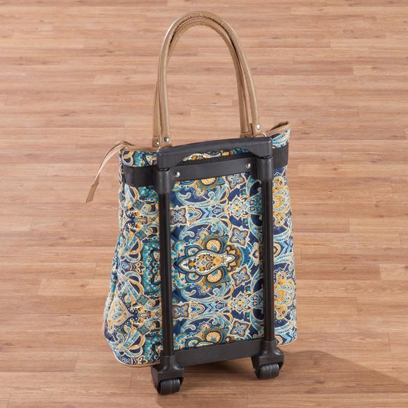Quilted Rolling Tote - View 4