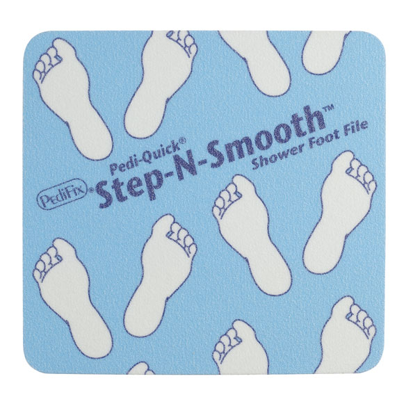 Pedi-Quick® Step-N-Smooth® Shower Foot File - View 2