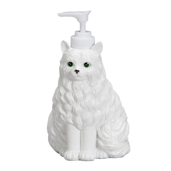 Playful Cat Soap Dispenser - View 2
