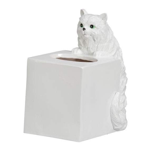 Playful Cat Tissue Holder - View 2