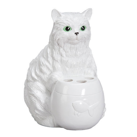Playful Cat Toothbrush Holder - View 2