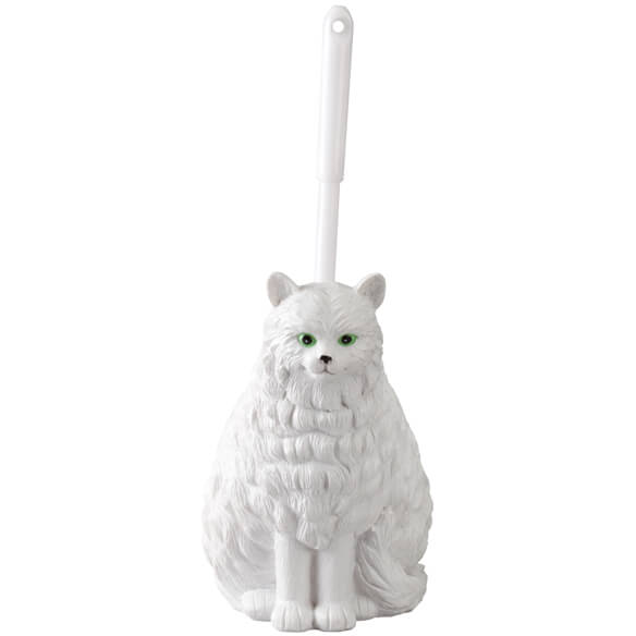 Cat Toilet Brush Holder - View 2