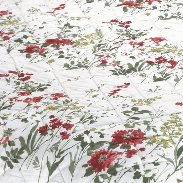 Reversible Ruby Meadow Comforter - View 3