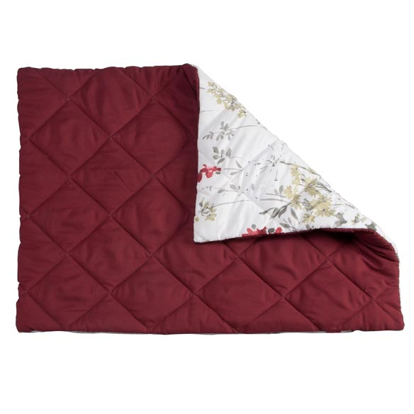 Reversible Ruby Meadow Bed Sham - View 2