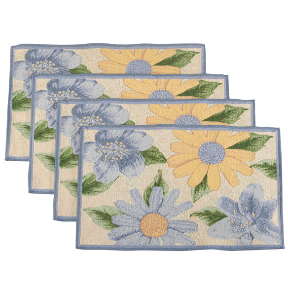 Floral Placemats, Set of 4 - View 2