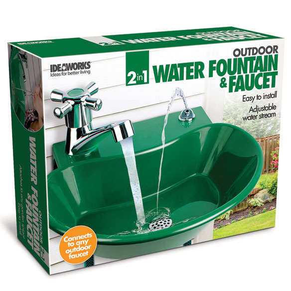 2-in-1 Water Fountain and Faucet - View 4