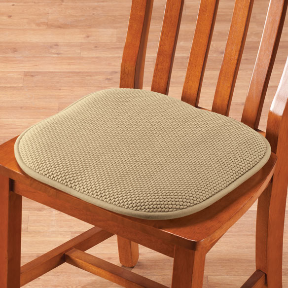 Memory Foam Chair Pads, Set of 2 - View 3