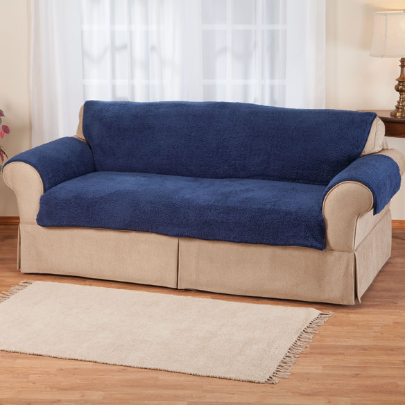 Sherpa Extra-Large Sofa Protector by OakRidge Comforts™ - View 5