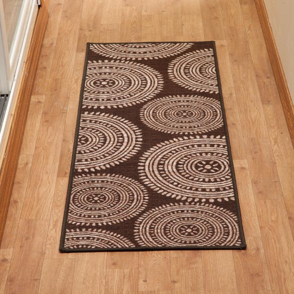Aztec Print Accent Rug - View 2