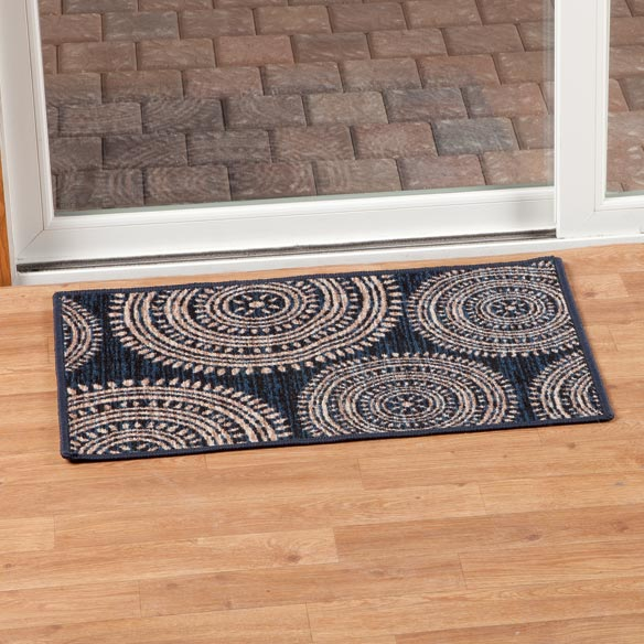 Aztec Print Accent Rug - View 3