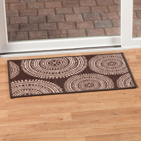 Aztec Print Accent Rug - View 4