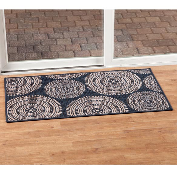 Aztec Print Accent Rug - View 5