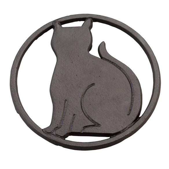 Black Cat Trivet - View 3