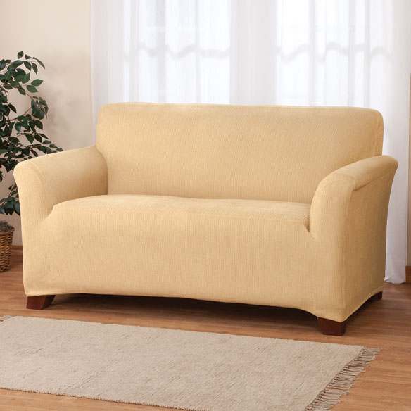 Stretch Heather Sofa Cover - View 4