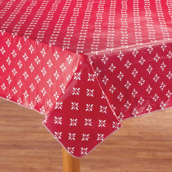 Heritage Vinyl Table Cover - View 3