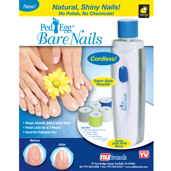 Ped Egg Bare Nails® - View 3
