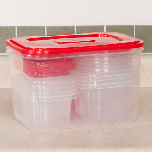 Storage Container Set, 42 Pieces - View 2