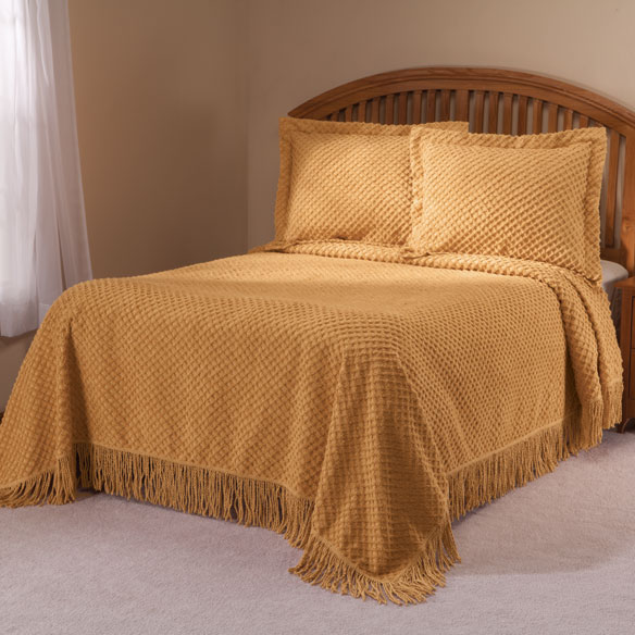 The Nancy Chenille Bedspread by East Wing Comforts™ - View 2