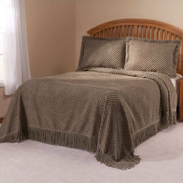 The Nancy Chenille Bedspread by East Wing Comforts™ - View 4