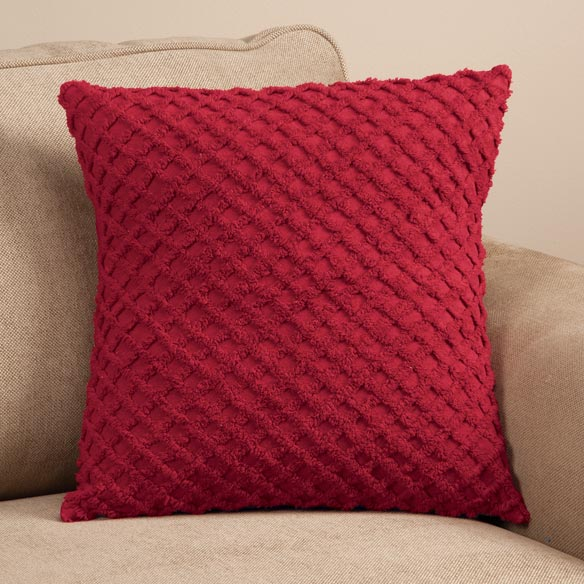 The Nancy Chenille Pillow Cover by East Wing Comforts™ - View 3