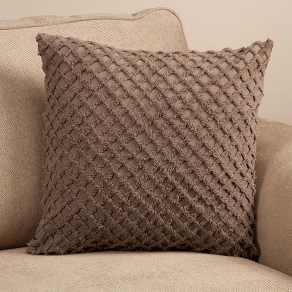 The Nancy Chenille Pillow Cover by East Wing Comforts™ - View 4