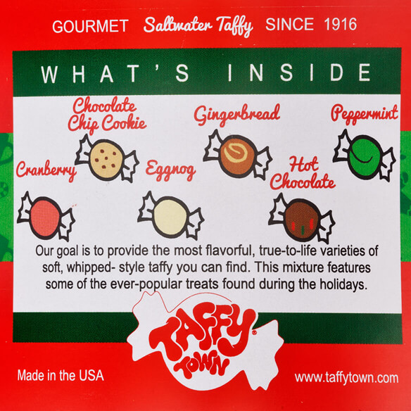 Taffy Town® Holiday Favorites Taffy Canister - View 3