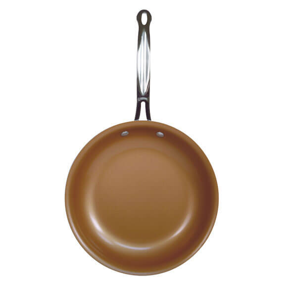 As Seen On TV Red Copper Pan™ - View 2