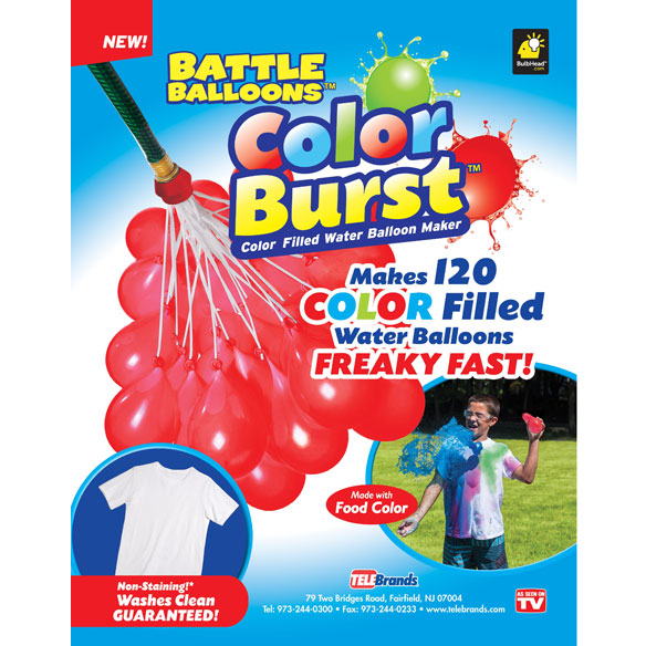 As Seen On TV Battle Balloons Colorburst™ - View 2