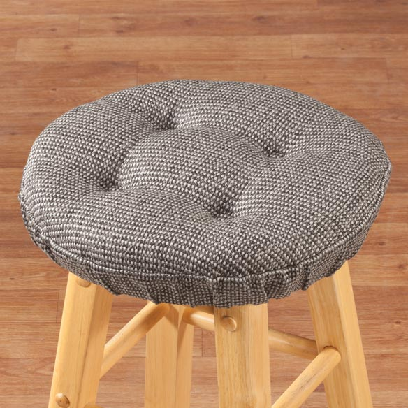 Classic Tweed Bar Stool Cushion - View 2