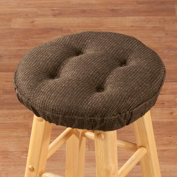 Classic Tweed Bar Stool Cushion - View 3