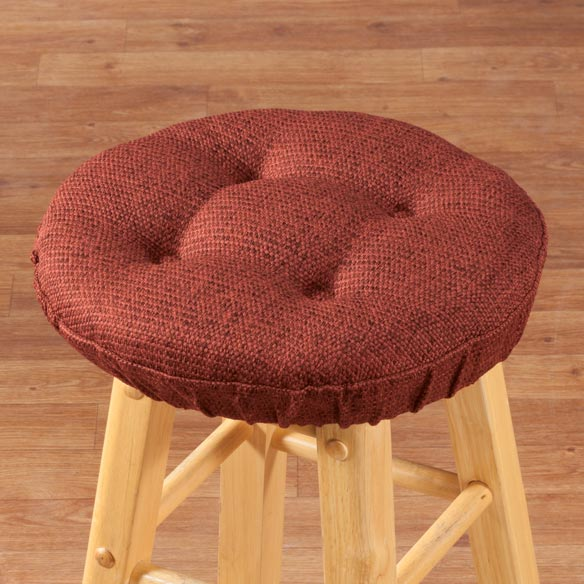 Classic Tweed Bar Stool Cushion - View 4