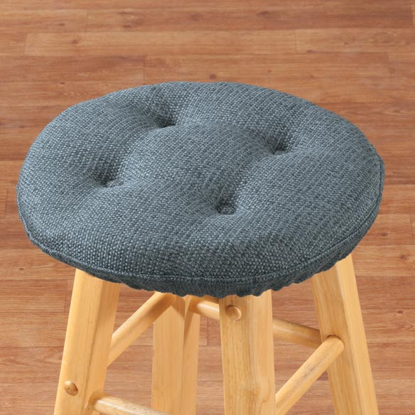 Classic Tweed Bar Stool Cushion - View 5