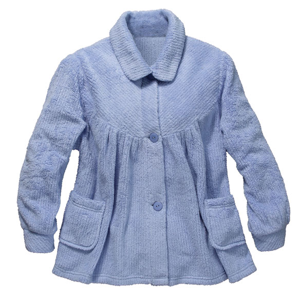 Chenille Bed Jacket - View 2