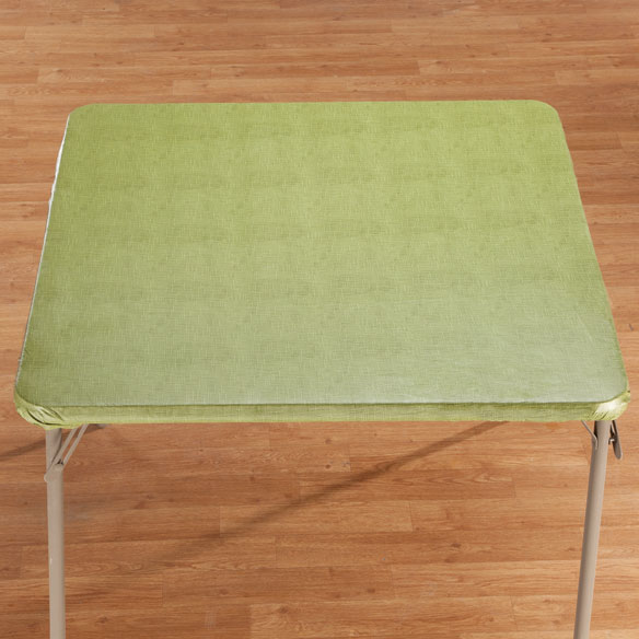 Illusion Weave Vinyl Elasticized Banquet Table Cover - View 5