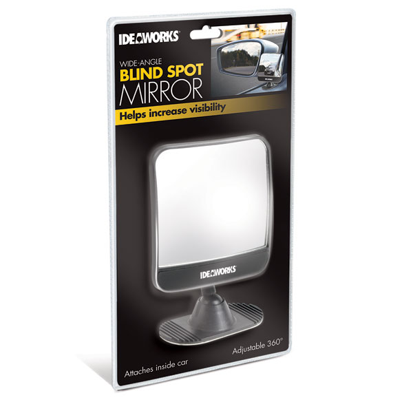 Wide Angle Blind Spot Mirror - View 2