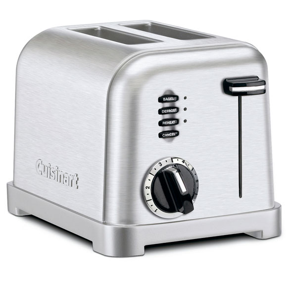 Cuisinart® Metal Classic Two-Slice Toaster - View 2