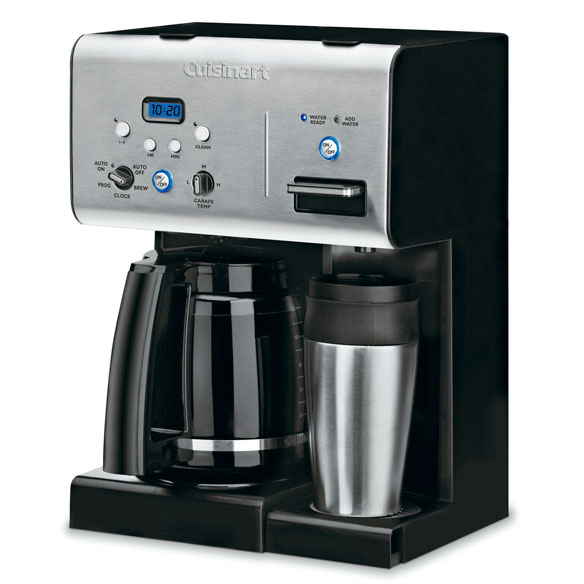 Cuisinart® Coffee Plus™ 12-Cup Programmable Coffee Maker - View 2
