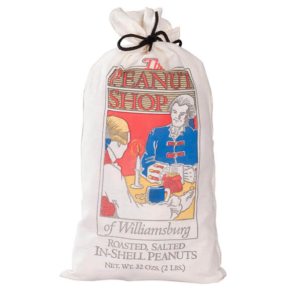 The Peanut Shop® Roasted, Salted In-Shell Peanuts in a Sack - View 2