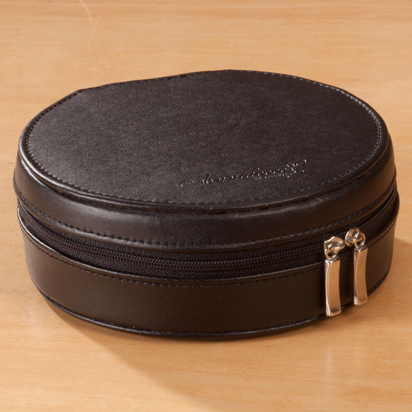 Round Travel Jewelry Case - View 2